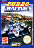 Al Unser Jr. Turbo Racing NES Front Cover