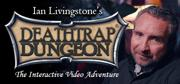 Ian Livingstone's Deathtrap Dungeon: The Interactive Video Adventure Macintosh Front Cover