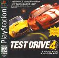 Test Drive 4 PlayStation Front Cover