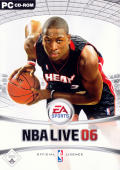 NBA Live 06 Windows Front Cover