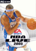 NBA Live 2005 Windows Front Cover