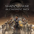 Middle-earth: Shadow of War - Desolation of Mordor: 4K Cinematic Pack PlayStation 4 Front Cover