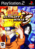 Naruto: Ultimate Ninja 3 PlayStation 2 Front Cover