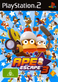 Ape Escape 3 PlayStation 2 Front Cover