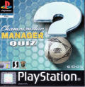Championship Manager Quiz PlayStation Front Cover