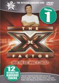 The X Factor: The Official Karaoke DVD - Volume 1 DVD Player Front Cover