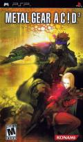 Metal Gear Ac!d 2 PSP Front Cover
