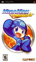 Mega Man Powered Up PSP Front Cover
