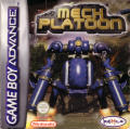 Mech Platoon Game Boy Advance Front Cover