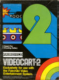 Videocart-2: Desert Fox, Shooting Gallery Channel F Front Cover