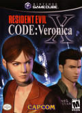 Resident Evil: Code: Veronica X GameCube Front Cover