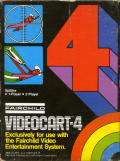 Videocart-4: Spitfire Channel F Front Cover