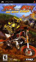 MX vs. ATV: On the Edge PSP Front Cover