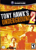 Tony Hawk's Underground 2 GameCube Front Cover