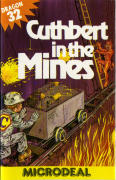 Cuthbert in the Mines Dragon 32/64 Front Cover