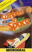 Cuthbert in Space Dragon 32/64 Front Cover