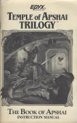 Temple of Apshai Trilogy Atari ST Manual Front