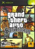 Grand Theft Auto: San Andreas Xbox Front Cover Second Edition