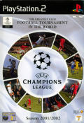 UEFA Champions League Season 2001/2002 PlayStation 2 Front Cover