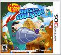 Phineas and Ferb: Quest for Cool Stuff Nintendo 3DS Front Cover