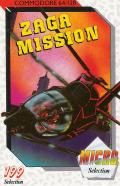 Zaga Mission Commodore 64 Front Cover