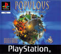 Populous: The Beginning PlayStation Front Cover