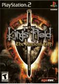 King's Field: The Ancient City PlayStation 2 Front Cover
