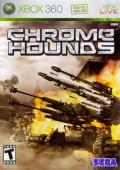Chromehounds Xbox 360 Front Cover
