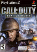 Call of Duty: Finest Hour PlayStation 2 Front Cover