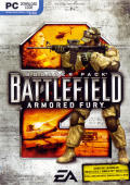Battlefield 2: Booster Pack - Armored Fury Windows Front Cover