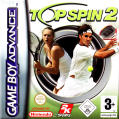 Top Spin 2 Game Boy Advance Front Cover