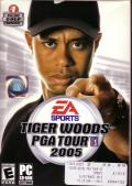 Tiger Woods PGA Tour 2005 Windows Front Cover
