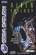 Alien Trilogy SEGA Saturn Front Cover