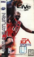 NBA Live 98 SEGA Saturn Front Cover