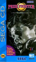 Prize Fighter SEGA CD Front Cover