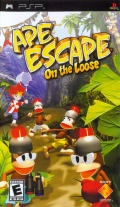 Ape Escape: On the Loose PSP Front Cover