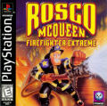Rosco McQueen: Firefighter Extreme PlayStation Front Cover