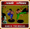Ikari III: The Rescue Nintendo Switch Front Cover 1st version
