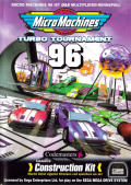 Micro Machines: Turbo Tournament 96 Genesis Front Cover
