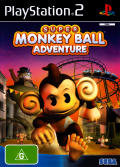 Super Monkey Ball Adventure PlayStation 2 Front Cover