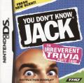 You Don't Know Jack Nintendo DS Manual front