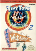 Tiny Toon Adventures 2: Trouble in Wackyland NES Front Cover