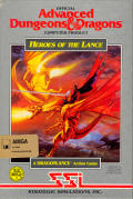 Heroes of the Lance Amiga Front Cover