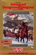 Secret of the Silver Blades Amiga Front Cover