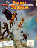 Sword of Sodan Amiga Front Cover