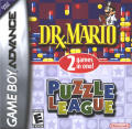Dr. Mario & Puzzle League Game Boy Advance Front Cover