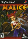 Malice PlayStation 2 Front Cover