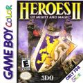 Heroes of Might and Magic II Game Boy Color Front Cover
