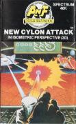 Cylon Attack ZX Spectrum Front Cover