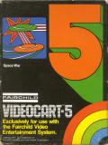 Videocart-5: Space War Channel F Front Cover